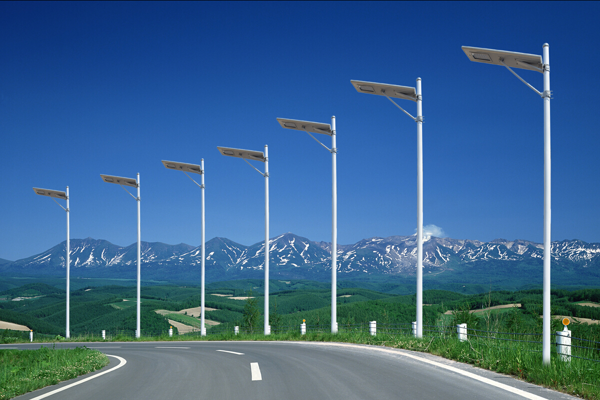 Solar Street Lights Micro Energy