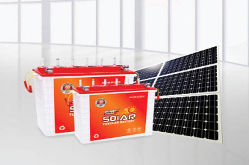Solar Batteries & Inverter